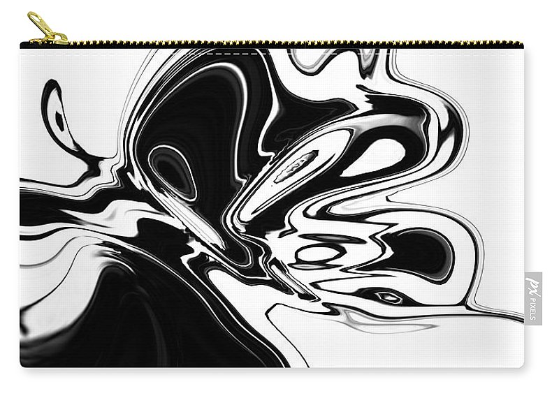 Abstract Carry-all Pouch featuring the digital art Butterfly by Rabi Khan