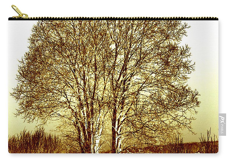 Finland Carry-all Pouch featuring the photograph By The Lake by Jouko Lehto