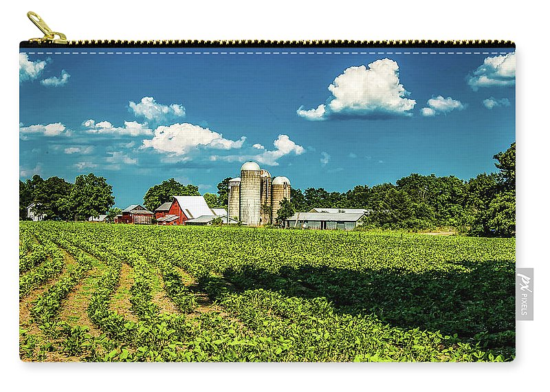 Fine Art Photography Carry-all Pouch featuring the photograph Bygone Days by Nicholas Costanzo
