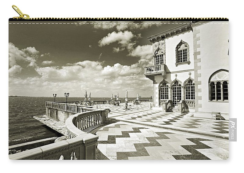 Ringling Carry-all Pouch featuring the photograph Ca D'zan Mansion by Mal Bray