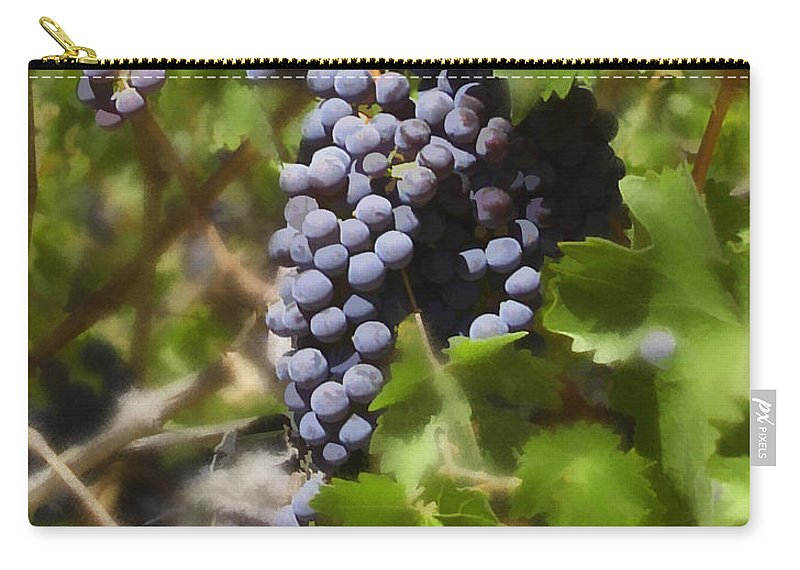 Cabernet Carry-all Pouch featuring the photograph Cabernet by Kurt Van Wagner
