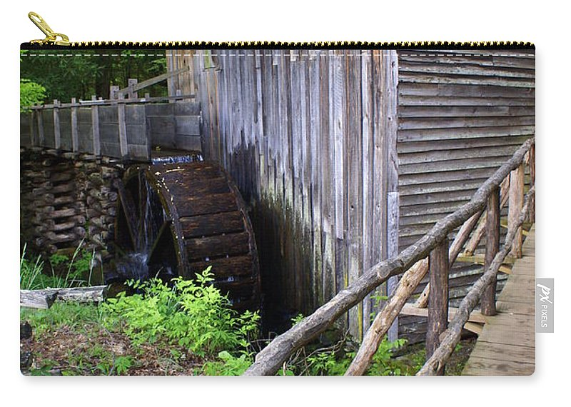 Cable Mill Carry-all Pouch featuring the photograph Cable Mill 3 by Marty Koch