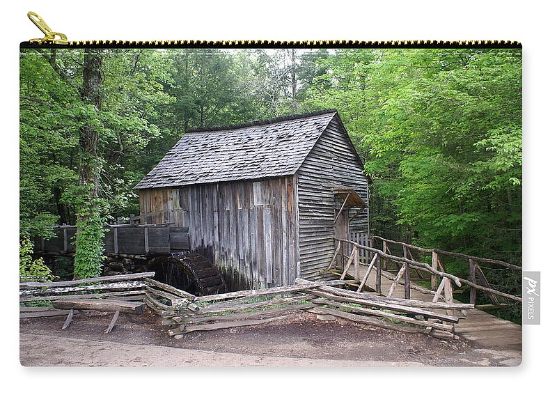 Cable Mill Carry-all Pouch featuring the photograph Cable Mill by Marty Koch