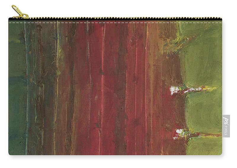 Cactus Carry-all Pouch featuring the painting Cactus by Craig Newland