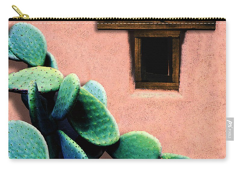 Cactus Carry-all Pouch featuring the photograph Cactus by Paul Wear