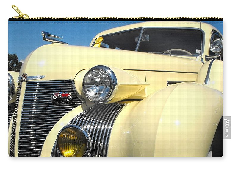 Cadillac Carry-all Pouch featuring the photograph Cadillac Fleetwood by Neil Zimmerman