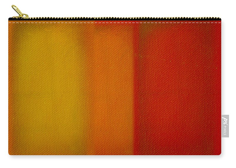 Rothko Carry-all Pouch featuring the painting Cadmium Lemon by Charles Stuart