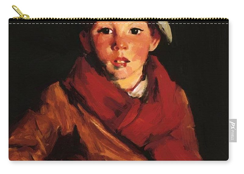 Cafferty Carry-all Pouch featuring the painting Cafferty 1926 by Henri Robert
