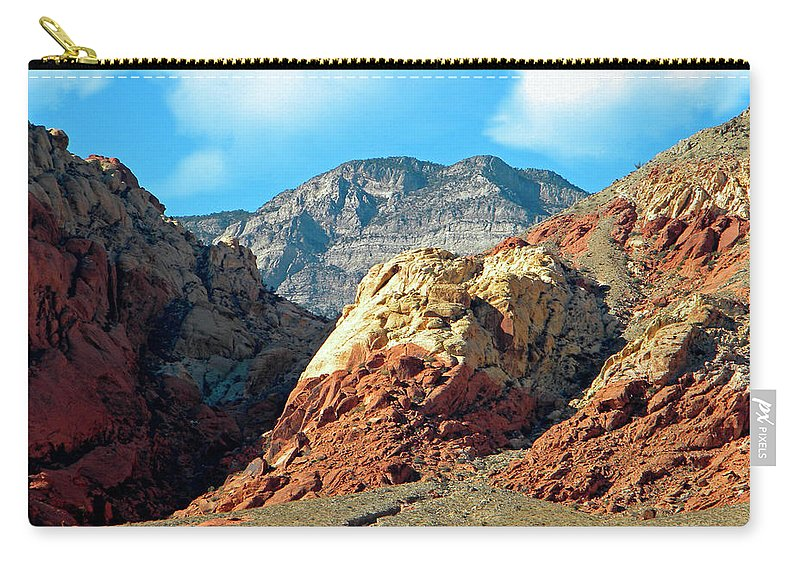 Frank Wilson Carry-all Pouch featuring the photograph Calico Basin Nevada by Frank Wilson