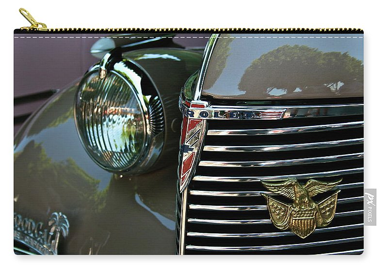Chevy Carry-all Pouch featuring the photograph California Chevy Classic by Gwyn Newcombe