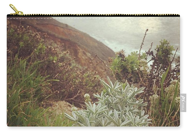 California Carry-all Pouch featuring the photograph California Coast by Abigail Scott