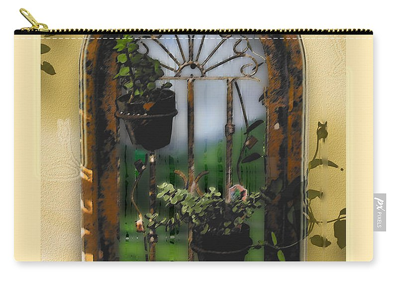 Abstract Carry-all Pouch featuring the photograph California Dreamin by Karen W Meyer