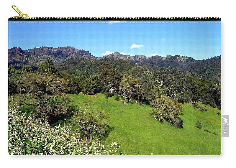 California Carry-all Pouch featuring the photograph California Highlands by Will Borden