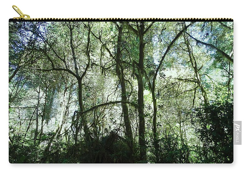 Jungle Carry-all Pouch featuring the photograph California Jungle by Leah Stark