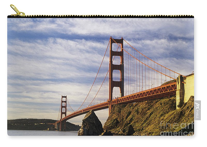 Across Carry-all Pouch featuring the photograph California, San Francisco by Larry Dale Gordon - Printscapes