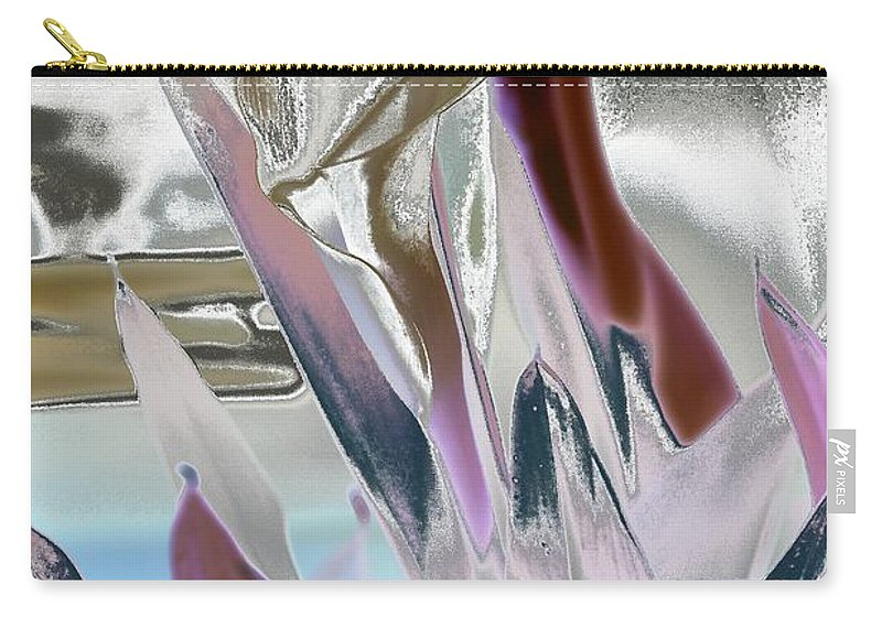Art Carry-all Pouch featuring the digital art Calla by Robert Meanor
