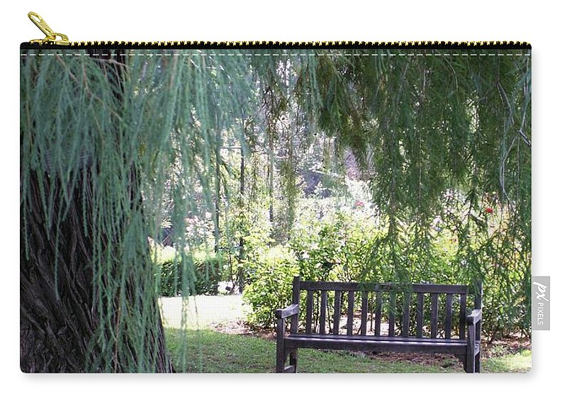 Landscape Carry-all Pouch featuring the photograph Calm by Amy Fose