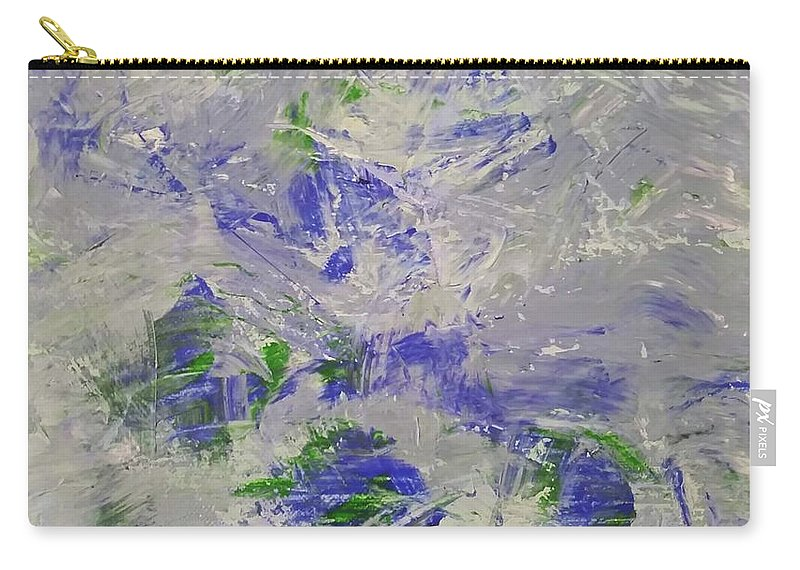 Calm Carry-all Pouch featuring the painting Calm by Liyri Art
