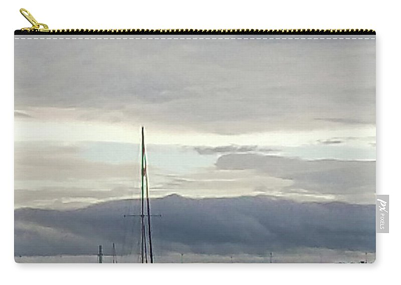 Cape Cod Carry-all Pouch featuring the photograph Calm by Sharon Eng