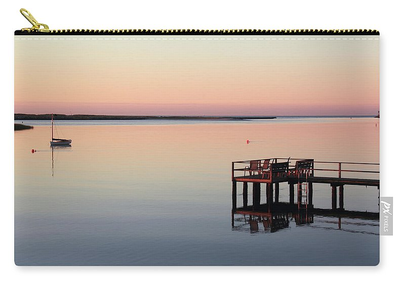 Calm Carry-all Pouch featuring the photograph Calm Waters by Roupen Baker