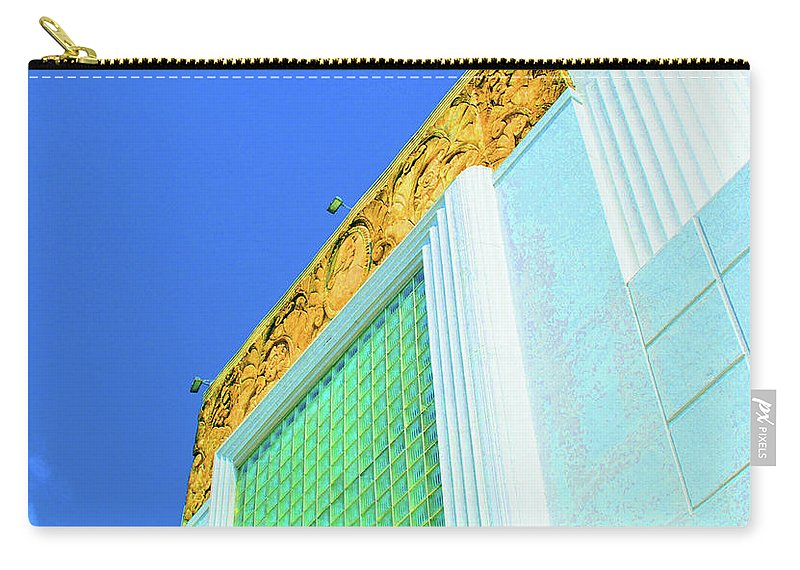 Cameo Carry-all Pouch featuring the photograph Cameo Theatre by Jost Houk