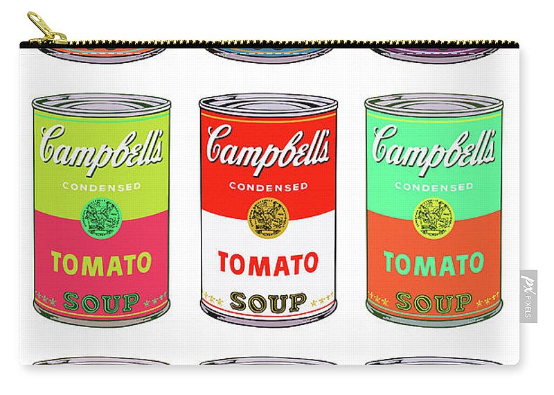 andy warhol art campbell soup can