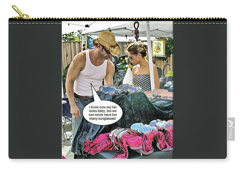 2d Carry-all Pouch featuring the photograph Can Never Have Too Many by Brian Wallace