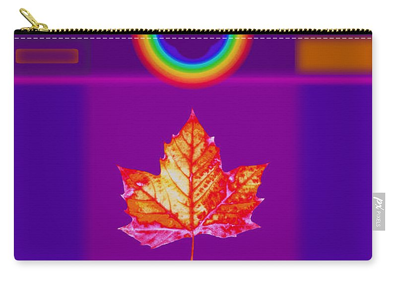 Classical Carry-all Pouch featuring the digital art Canadian Palladian by Charles Stuart