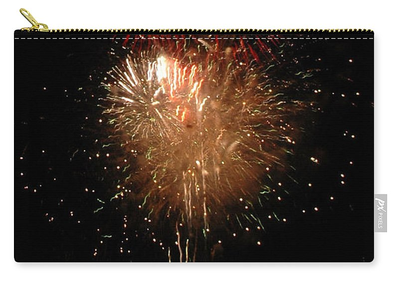 California Scenes Carry-all Pouch featuring the photograph Candle Burst by Norman Andrus