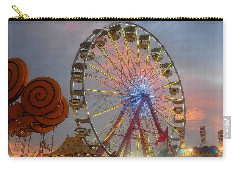 State Fair Carry-all Pouch featuring the photograph Candy Land by David Lee Thompson