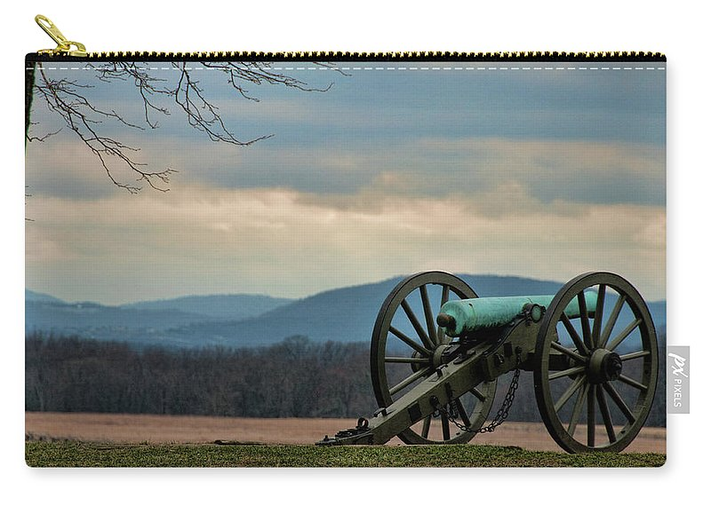 Cannon Carry-all Pouch featuring the photograph Cannon by David Arment