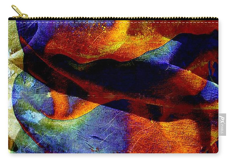 Canvas Carry-all Pouch featuring the digital art Canvas by Ron Bissett