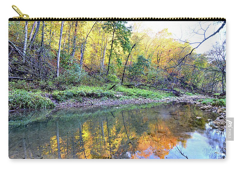 River Carry-all Pouch featuring the photograph Canyon Autumn 2 by Bonfire Photography