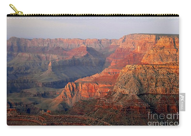 Grand Canyon Carry-all Pouch featuring the photograph Canyon Dusk by David Lee Thompson