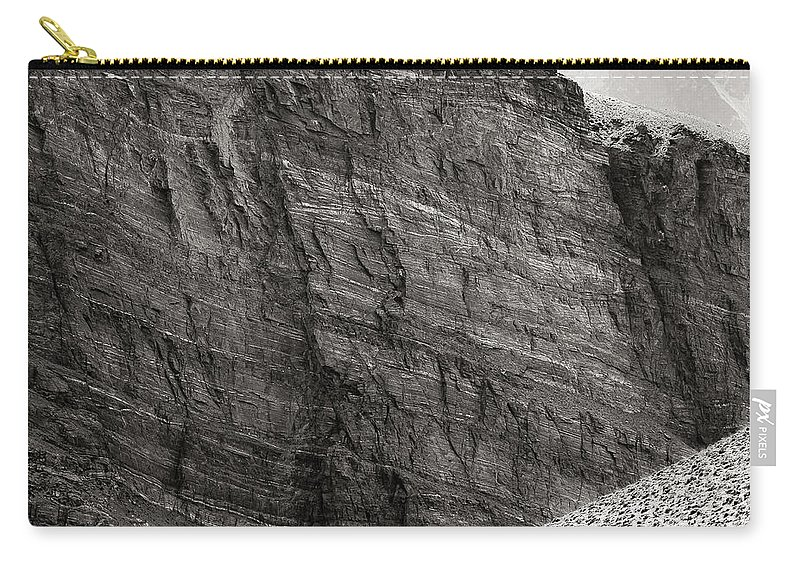 Alone Carry-all Pouch featuring the photograph Canyon Nishgar by Konstantin Dikovsky