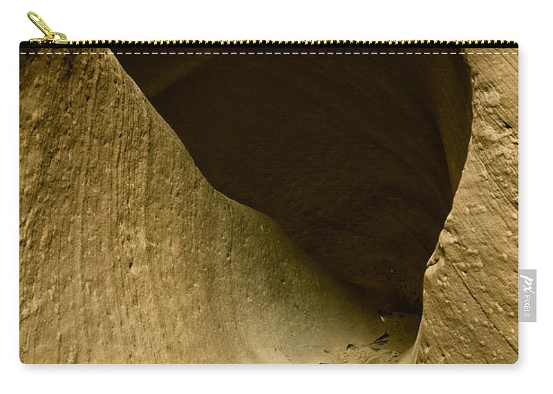 Photograph Carry-all Pouch featuring the photograph Canyon Steps by Scott Sawyer