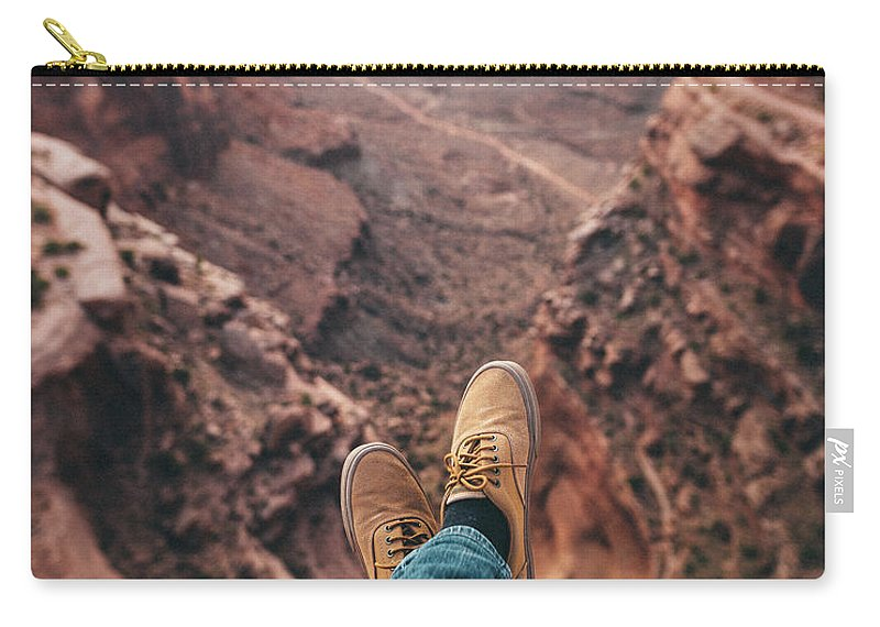Canyon Carry-all Pouch featuring the photograph Canyonlands by Chad Gray