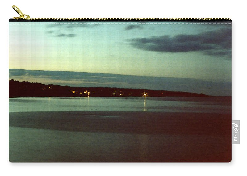 Sea Carry-all Pouch featuring the painting Cape Ann Sunset by Paul Sachtleben