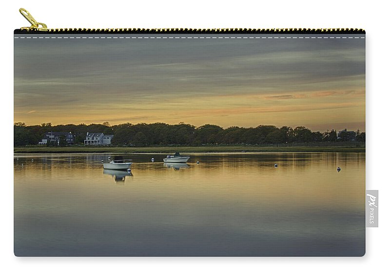 Cape Cod Carry-all Pouch featuring the photograph Cape Cod, Barlow's Landing by Eleanor Bortnick