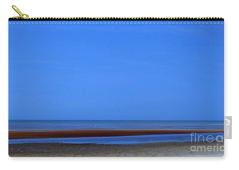 Abstract Carry-all Pouch featuring the photograph Cape Outlook by Sharon Eng
