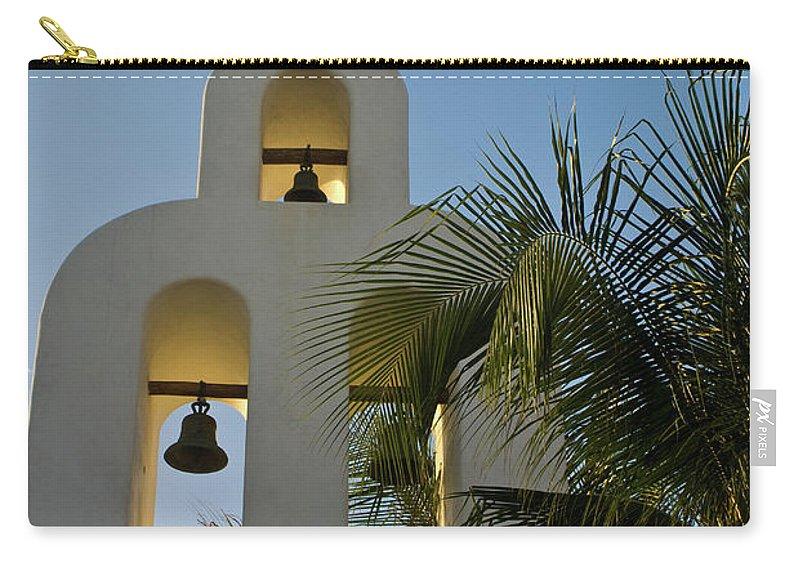 Capilla Carry-all Pouch featuring the photograph Capilla De Nuestra Senora Del Carmen 1 by Douglas Barnett