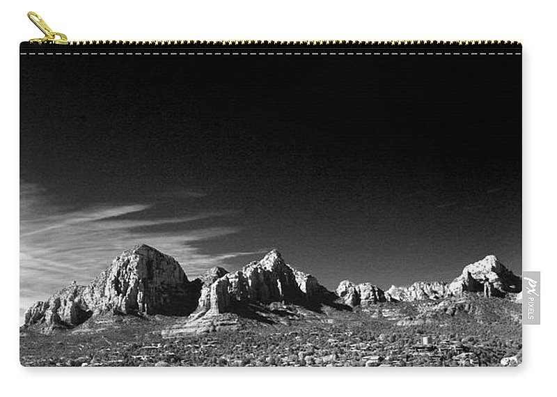 Sedona Carry-all Pouch featuring the photograph Capital Dome 3 by Randy Oberg