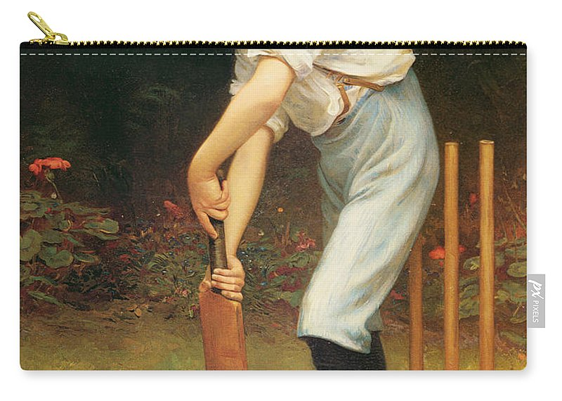 Captain Carry-all Pouch featuring the painting Captain Of The Eleven by Philip Hermogenes Calderon