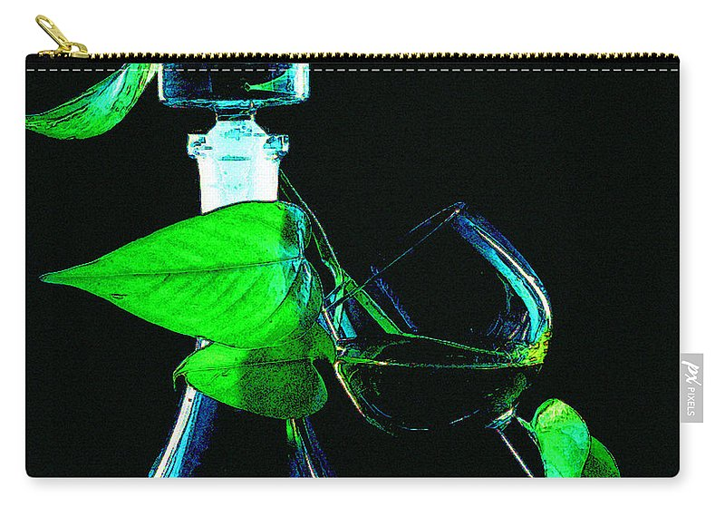 Captains Decanter Carry-all Pouch featuring the photograph Captains Decanter by Paul Wear