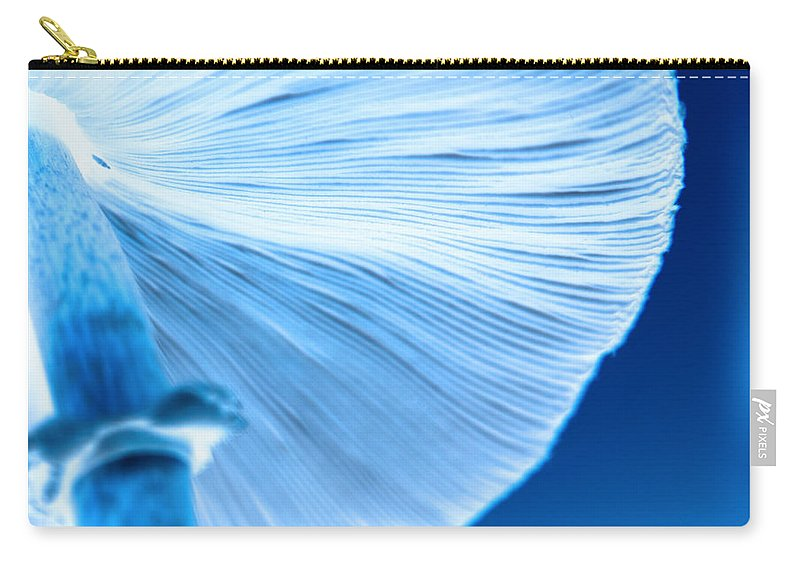 Mushrooms Carry-all Pouch featuring the photograph Captastic by Amanda Barcon