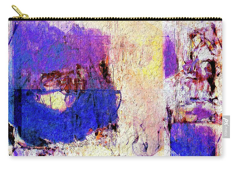 Abstract Carry-all Pouch featuring the painting Captiva by Dominic Piperata