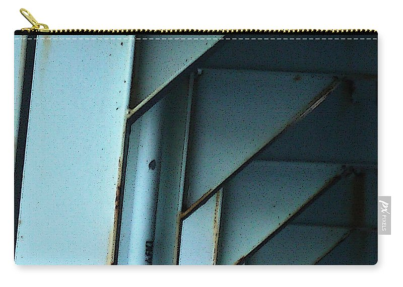 Ferry Carry-all Pouch featuring the photograph Car Ferry by Tim Nyberg