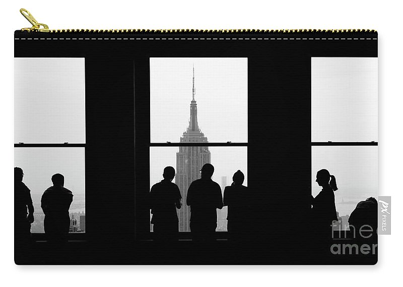 New York City Carry-all Pouch featuring the photograph Careful Observation by RicharD Murphy