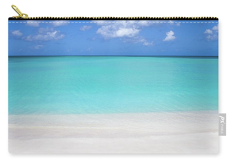 Antigua And Barbuda Carry-all Pouch featuring the photograph Caribbean Blues by Ferry Zievinger