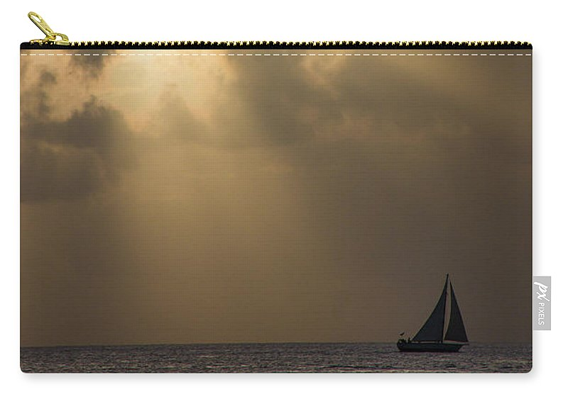 America Carry-all Pouch featuring the photograph Caribbean Skies And Light 2 by Riccardo Forte